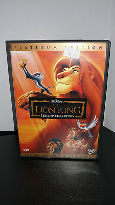 ** The Lion King (DVD, 2003, 2-Disc Set, Platinum Edition, All-New Song!)