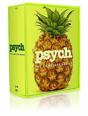 Psych: The Complete Series Seasons 1-8 (DVD, 31-Disc Box Set)NEW!low price!