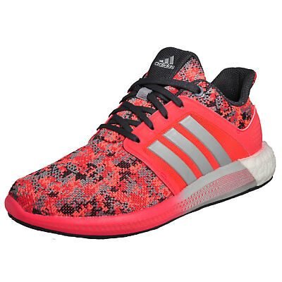 adidas CC Sonic Boost W Pink White Womens Jogging Running