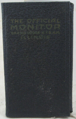 The Official Monitor Grand Lodge 280 AF&AM Illinois Free & Accepted Masons 1950