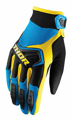 THOR MX Motocross Kids 2018 SPECTRUM Gloves (Blue/Black) Choose Size
