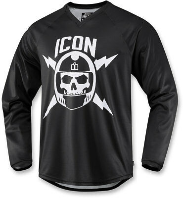 Icon Motosports SELLOUT Jersey/Shirt (Black) Choose Size