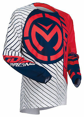 Moose Racing MX Off-Road 2018 QUALIFIER Jersey (Red/White/Blue) Choose Size