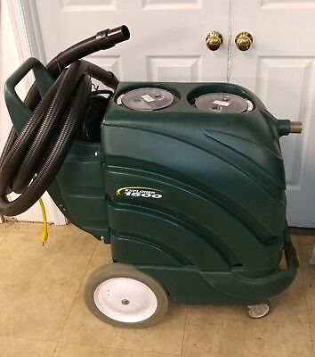 Nobles Explorer 1500 Carpet Extractor only 29 hours, no tools included