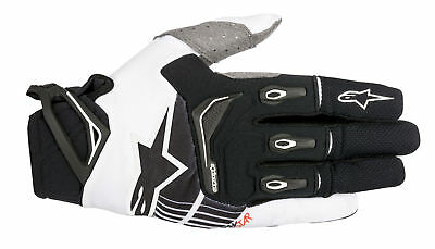 Alpinestars MX/Motocross 2018 TECHSTAR Gloves (Black/White) Choose Size