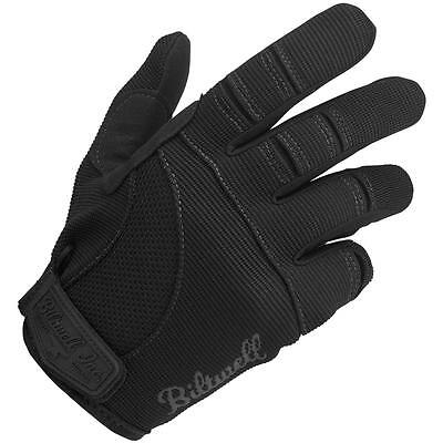 Biltwell Inc Moto MX Offroad Mechanic Motorcycle Gloves (Black) Choose Size