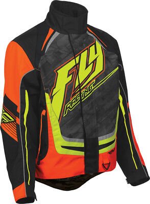 FLY RACING Snow Snowmobile - 2016 SNX Pro Jacket (Orange/Black) Choose Size
