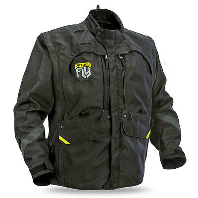 FLY RACING Offroad 2017 PATROL Convertible Jacket/Vest (Black) Choose Size