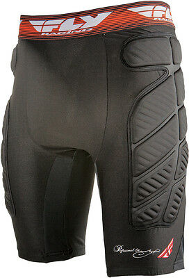 FLY RACING MX Motocross BMX - Compression Shorts (Black) Choose Size