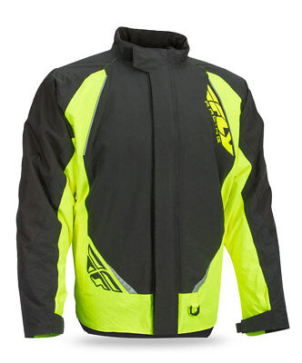 FLY RACING Snowmobile 2017 AURORA Insulated Jacket (Black/Hi-Vis) Choose Size