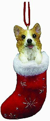 Corgi Santa's Little Pals Dog Christmas Ornament