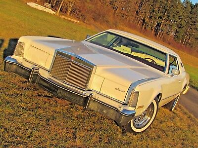 WOW ! 2. HAND LINCOLN CONTINENTAL MARK IV Ford Thunderbird chass.* US CAR