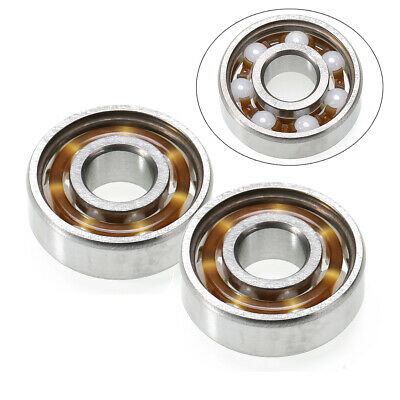 608 Ceramic Ball Speed Bearing For Finger Spinner Skateboard Drift Plate