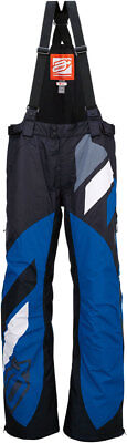 ARCTIVA Snow Snowmobile Mens 2017 COMP Insulated Bibs/Pants BLK/BLUE Choose Size