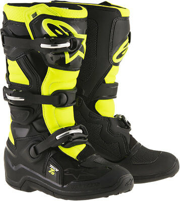 ALPINESTARS Motocross Offroad 2017 TECH 7S Boots (Black/Yellow) Choose Size