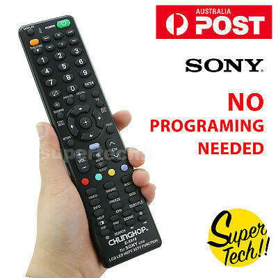 Sony Smart TV Universal NO PROGRAMMING 3D HDTV LED LCD Remote Control Controller