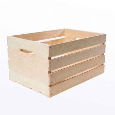 Crates Pallet Crates and Pallet Large Wood Crate Box Shelf Divided Container