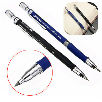 2mm 2B Lead Holder Automatic Mechanical Drawing Drafting Pencil W/ Leads Refill