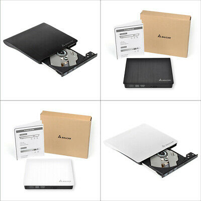 USB 2.0 Extern CD-RW DVD Brenner Slim Laufwerk Portable Brenner Notebook PC