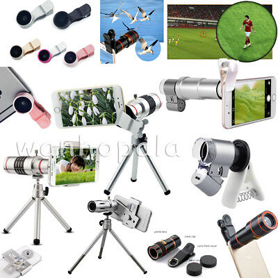 8X 12X 18X 20X Optical Zoom Telephoto Telescope Camera Lens For Apple iPhone LOT