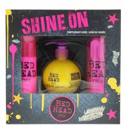 TIGI Bed Head Shine On Gift Set For Her - Party-Ready Look