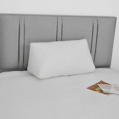 Luxury Hollowfibre Triangle Support Wedge for Bed with Cover Acid Reflux Pillow