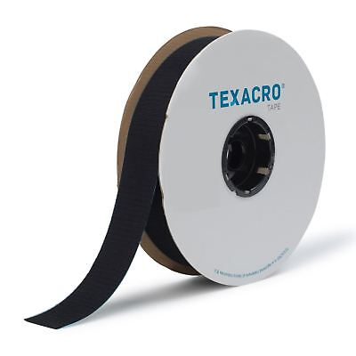 TEXACRO® by Velcro® Brand Companies Hook and Loop Sew On Tape Black and White
