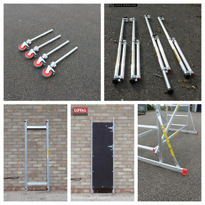 Loyal SUPER DIY Aluminium Scaffold Tower SDIY Upgrade pack and accessories