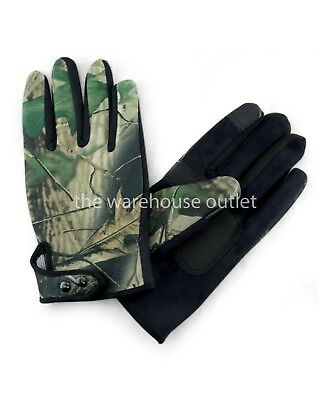 Mens Camouflage Military Airsoft Army Police Tactical Gloves Full Finger Protect