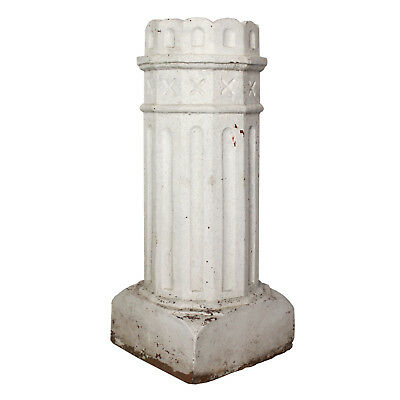 Reclaimed Antique Terra Cotta Chimney Pot, Late 19th Century, NMI143