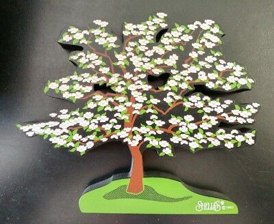 Shelia's Collectibles – WHITE DOGWOOD TREE – ACC 14