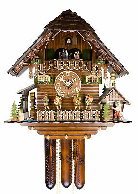 Adolf Herr Cuckoo Clock - The Village Musicians AH 646/1 8TMT NEW