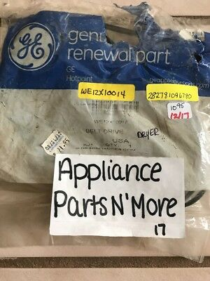 New Ge Dryer Belt We12X10014 Free Shipping