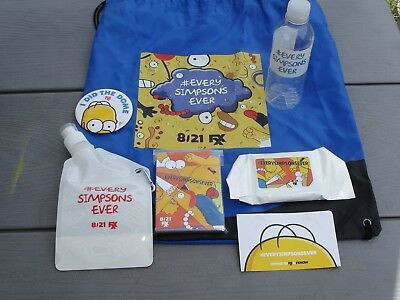The Simpsons Backpack With Some Goodies