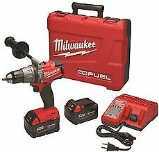 Milwaukee M18 Hammer Drill/Driver Kit, 1/2 In.