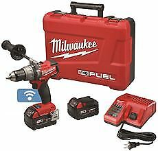 Milwaukee M18 Fuel 1/2 In. Hammer Drill/Driver Kit With One-Key