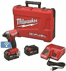 Milwaukee M18 Fuel 1/4 In. Hex Impact Driver Kit With One-Key