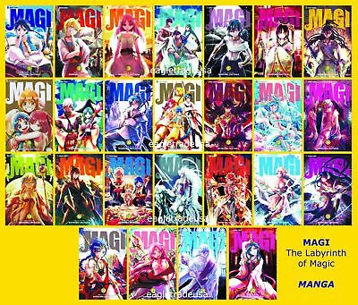 Magi The Labyrinth of Magic MANGA Series Collection Set Books - BRAND NEW