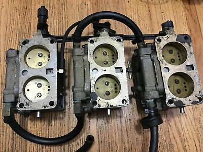 1988 Mercury 150Hp Carburetor 7563A10 7563A11 7563A12 2-Stroke V6