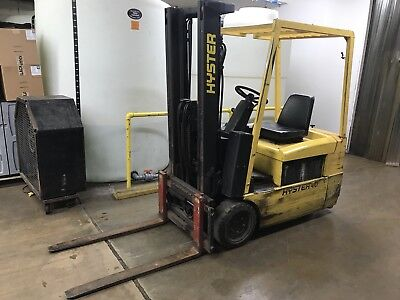 Hyster 40 Electric Forklift