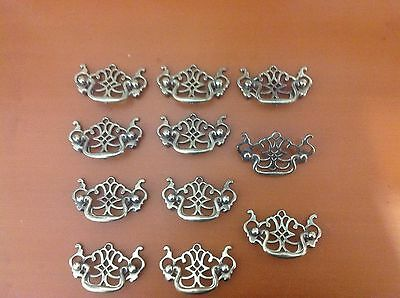 626 VTG French Provincial/Chippendale Swing Pulls 10 Available In Antique Brass