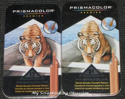 PRISMACOLOR PREMIER Water-Soluble Colouring Pencils (Choose from 2) Watercolour