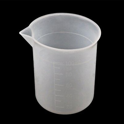 5pcs 100ml Measuring Cup Silicone Resin Glue Jewelry Make DIY Craft Good Grips