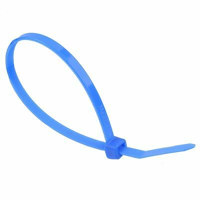 4.8mm x 300mm Blue Zip Cable Tie - Pack of 100