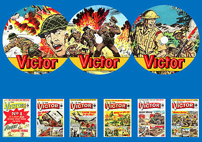 Victor Weekly UK Comic On 3 DVD Rom's