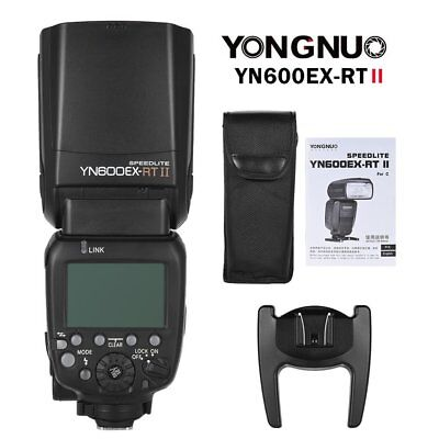 Yongnuo YN600EX-RT II TTL HSS Wireless Master Flash Speedlite for Canon DSLR UK