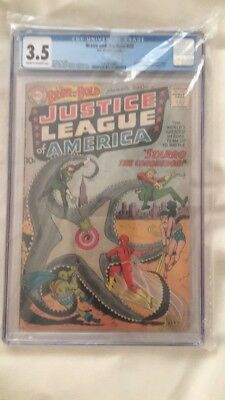 DC COMICS 1st Justice league, The brave and the bold #28 cgc