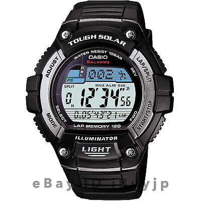 Casio Standard W-S220-1AJF Solar Tough Solar Mens Watch
