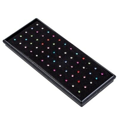 Set 60X Piercing Nez En Strass Multicolore 10Mm Bijoux E4O5