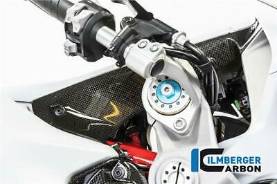 Ilmberger GLOSS Carbon Fibre Intake Airtube Covers Ducati SuperSport 939 SS 2017